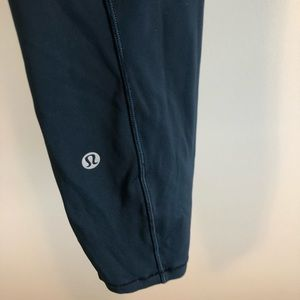 Lululemon Fast and Free High-Rise Crop Nulux 8